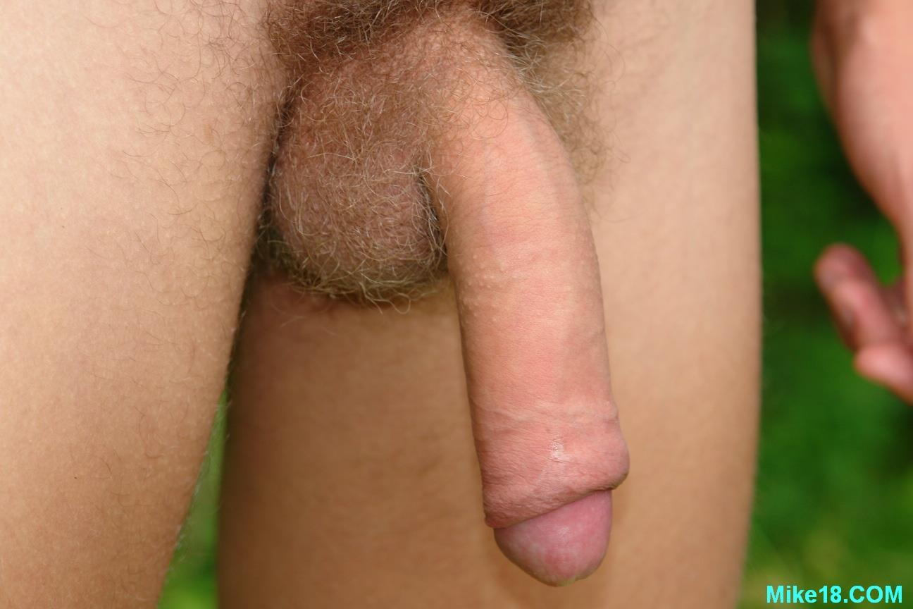 Blonde-Hairy-18-year-old-Twink-With-Big-Uncut-Cock-Masturbating-Amateur-Gay-Porn-16 18 Year Old Blonde Hair Cute Twink Jerking Off His Big Uncut Cock Outside