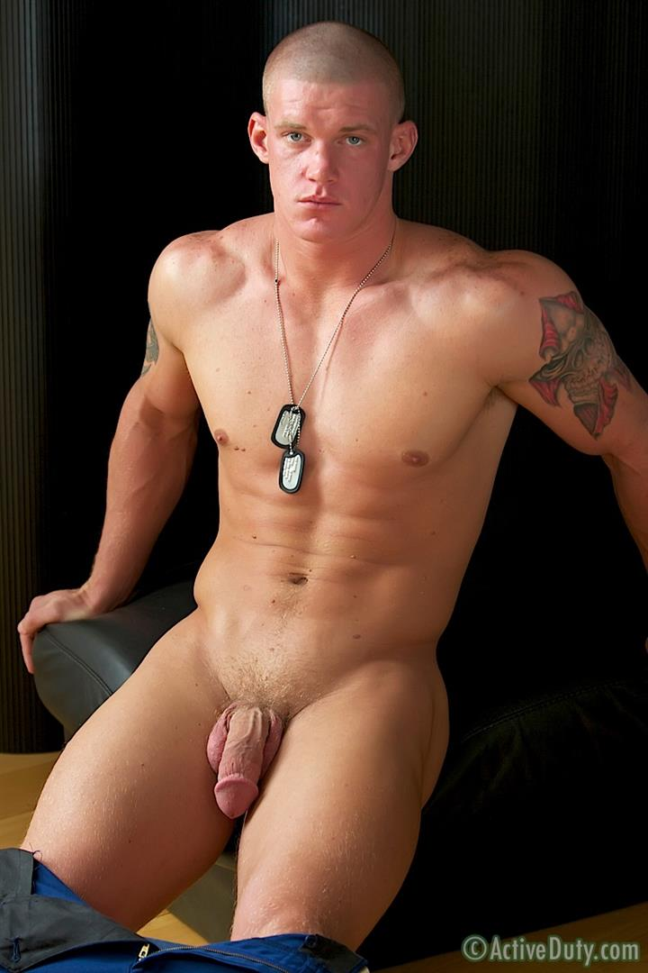 Active-Duty-Tanner-Muscle-Marine-Jerking-His-Big-Mushroom-Head-Cock-Amateur-Gay-Porn-13 Semper Fi!  Real Muscle Marine Jerking His Mushroom Head Cock