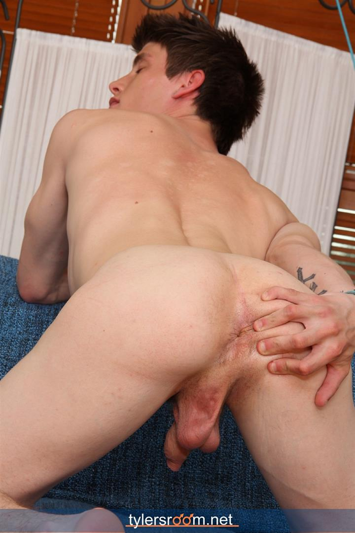 Tylers-Room-Jiri-Prazan-Czech-Twink-With-A-Big-Uncut-Cock-Amateur-Gay-Porn-10 Czech Twink Playing With His Ass And His Big Uncut Cock