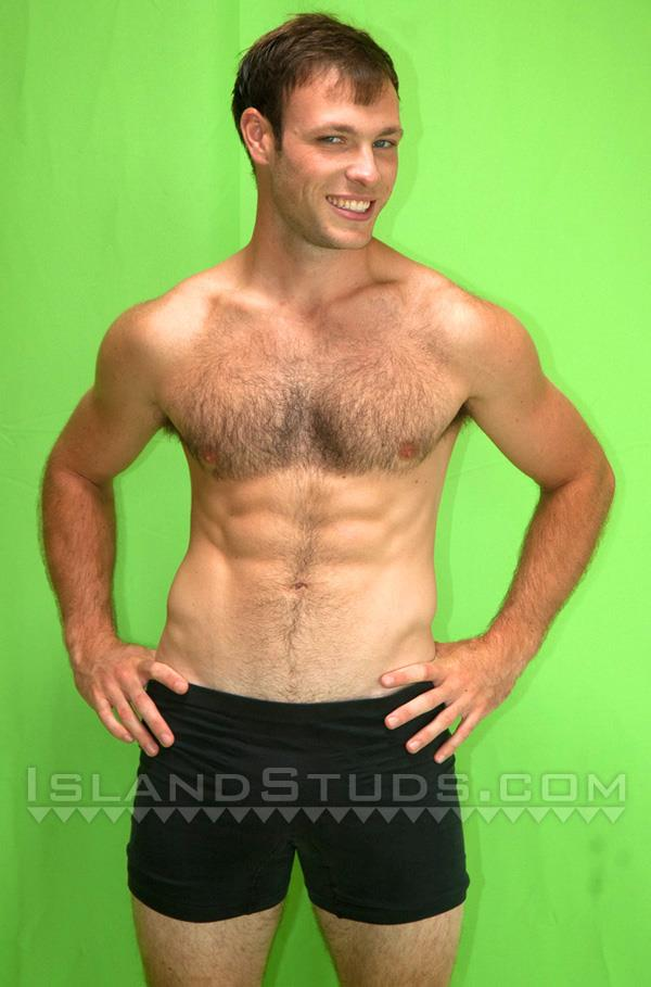 "Island-Studs-Loren-Hairy-Muscle-Jock-Jerking-His-Big-Cock-Amateur-Gay-Porn-01 Hairy Muscle Jock Jerking His 9"" Big Cock"