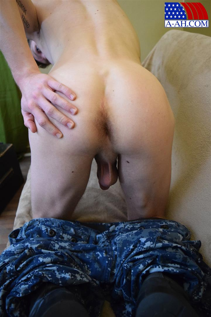 All American Heroes Petty Officer Jacob Big Cock Jerk Off Naked Navy Guy Amateur Gay Porn 12 Young Navy Petty Officer Jerking His Thick Cock & Fingering His Ass