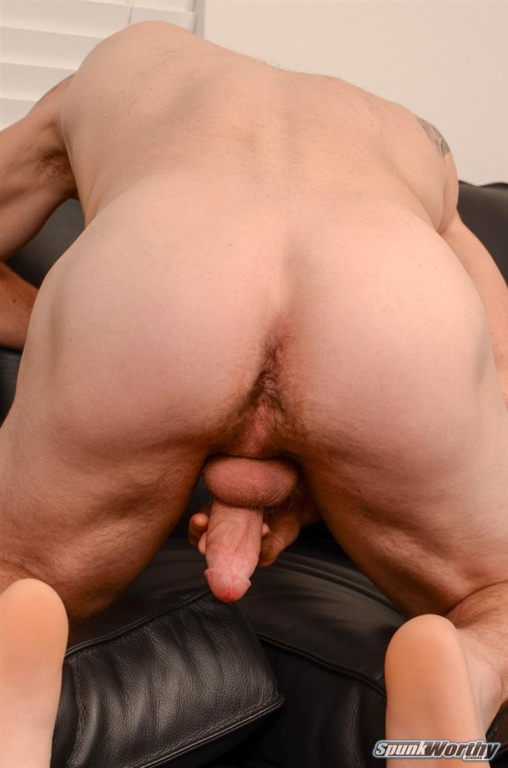 SpunkWorthy-Dale-Naked-Football-Jock-Jerking-Off-His-Big-Cock-Amateur-Gay-Porn-11 Straight Football Jock Jerks His Big Cock And Shows Off His Hairy Hole