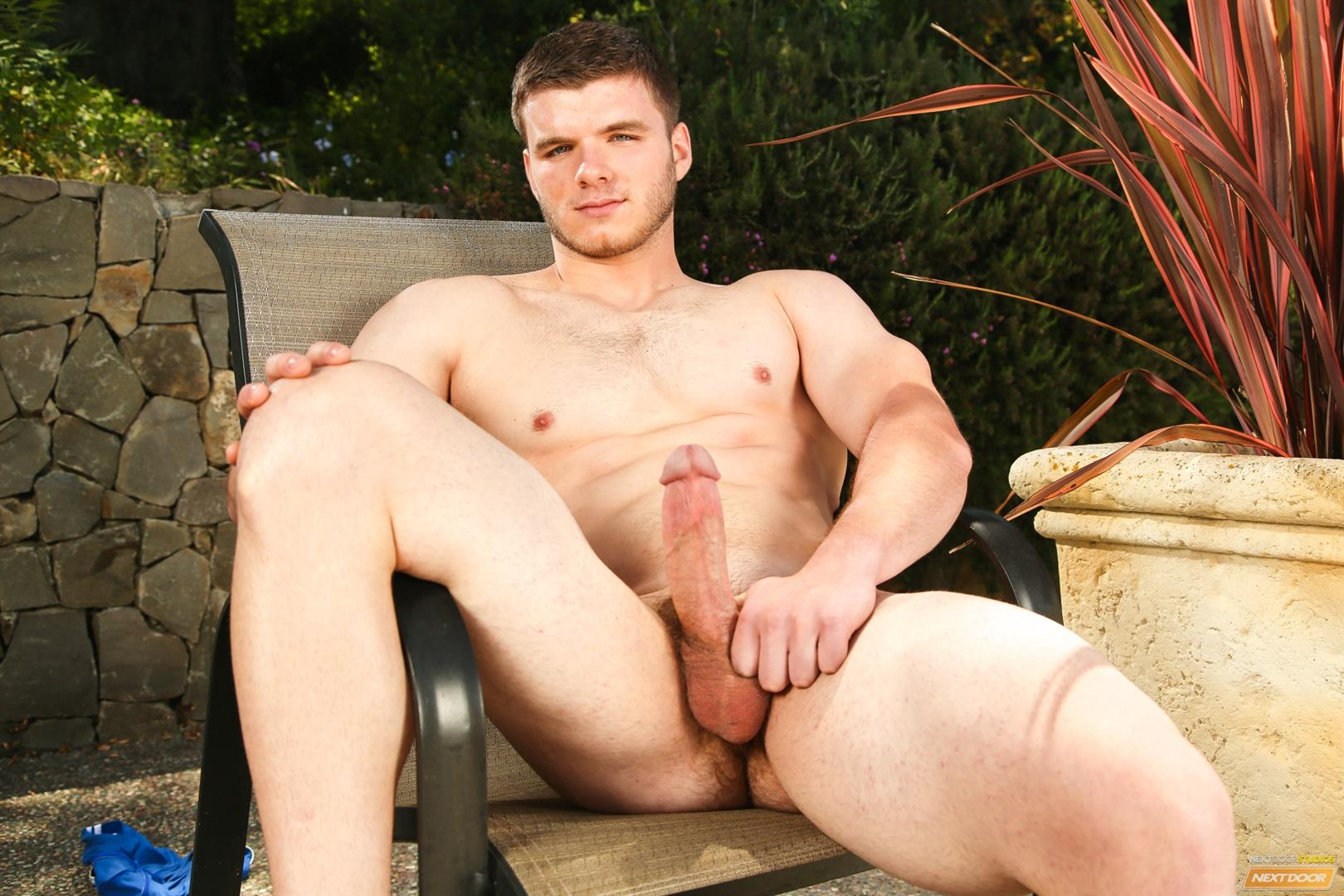 Next Door Male Ivan James Muscular Twink Masturbation Thick Cock Amateur Gay Porn 12 West Virginia Country Boy Strokes His Big Thick Cock