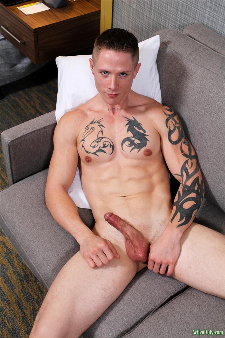 ActiveDuty-Guy-Houston-Naked-Army-Guy-Jerking-Off-Amateur-Gay-Porn-12 Straight Army Soldier Auditions For Gay Porn And Blows A Load