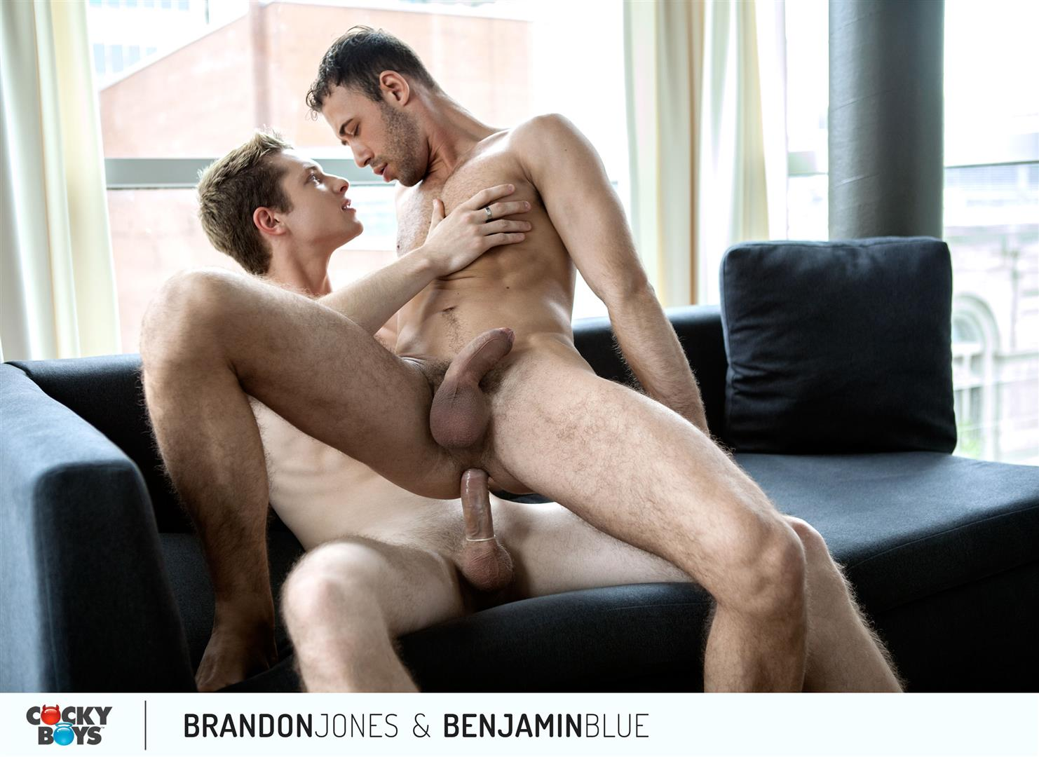 Cockyboys Benjamin Blue and Brandon Jones Flip Flop Fuck Amateur Gay Porn 12 Cockyboys: Benjamin Blue Tops Brandon Jones For The First Time