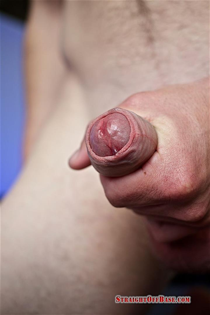 Straight-Off-Base-Aamon-Naked-Marine-With-A-Big-Uncut-Cock-11 Irish-American US Marine Naked And Stroking His Big Uncut Cock