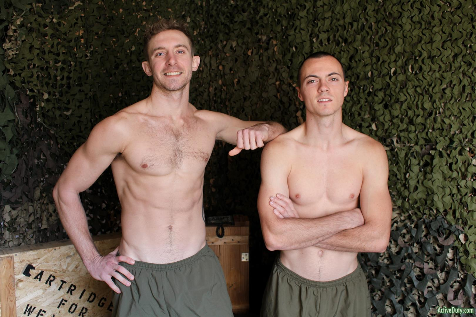Active-Duty-and-Tyler-Love-and-Ryan-V-Naked-Marine-Buddys-Bareback-Fucking-Gay-Sex02 Straight Marine Buddies Like To Secretly Have Bareback Sex