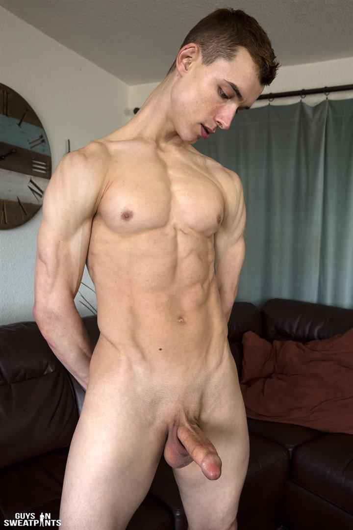Guys-in-Sweatpants-Austin-Wilde-Twink-Getting-Barebacked-By-Thick-Jock-Cock-04 Sexy Twink Takes A Thick Jock Cock Bareback Up The Ass