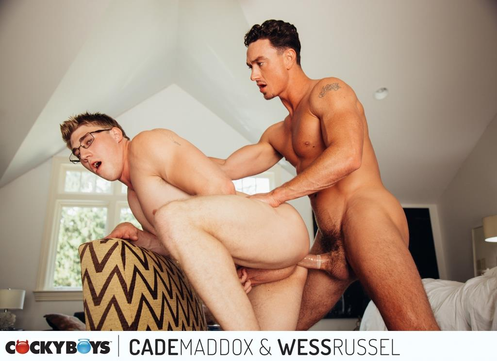 Cockyboys-Wess-Russel-and-Cade-Maddox-Thick-Cock-Muscle-Boys-Fucking-19 Cockyboys: Wess Russel Takes Cade Maddox's Thick Cock
